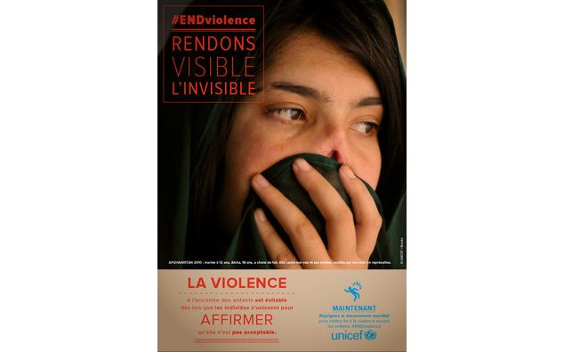 #End violence, rendons visible l'invisible